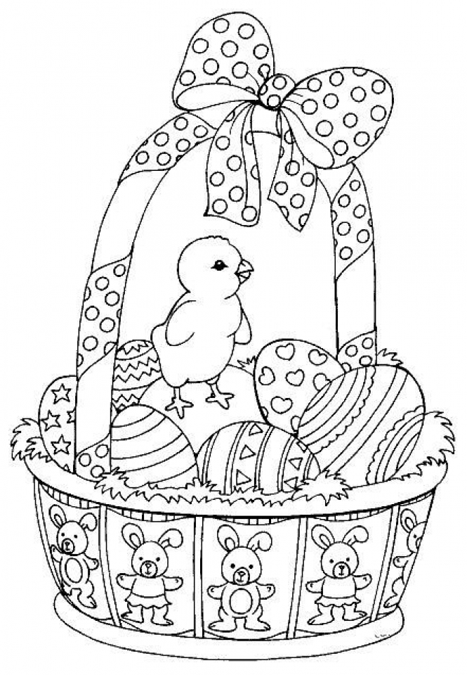Get This Easter Egg Hard Coloring Pages for Adults 76631