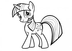 Easy Printable My Little Pony Friendship Is Magic Coloring Pages for Children 73600