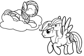 Free Picture of My Little Pony Friendship Is Magic Coloring Pages 94430