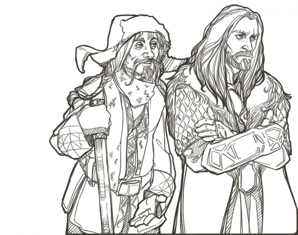 Free Printable The Hobbit Coloring Pages   2134