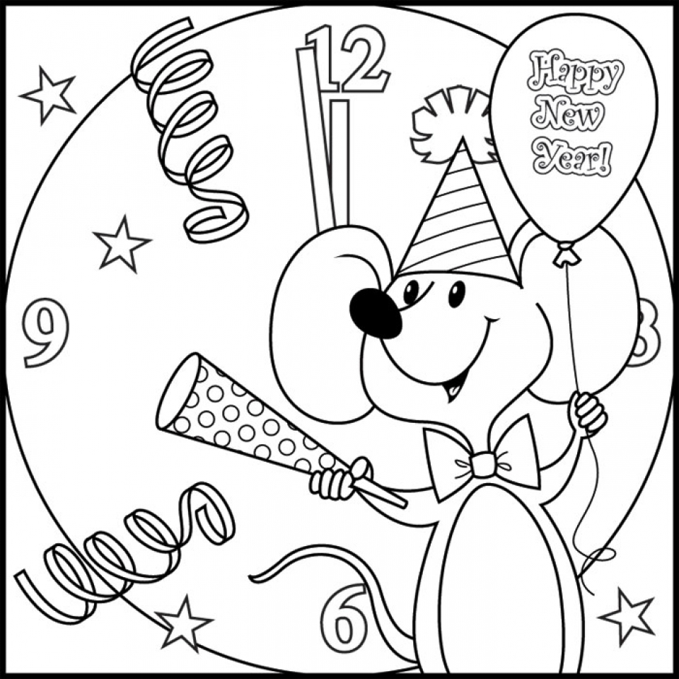 Check out this page for tons of New Year's printable ideas ...   960x960