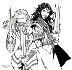 The Hobbit Coloring Pages Free to Print 6739