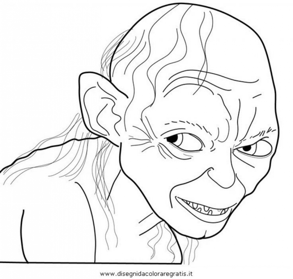 The Hobbit Coloring Pages Free Coloring Pages Download | Xsibe azog ...
