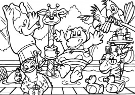 Zoo Coloring Pages to Print for Kids 48523