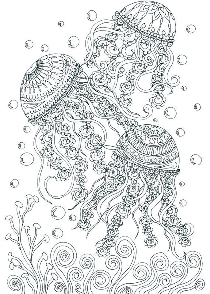 Get This Free Adults Printable Of Summer Coloring Pages - 59201 !