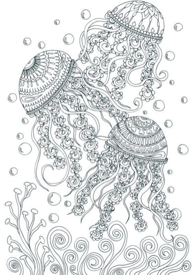Free Adults Printable of Summer Coloring Pages - 59201