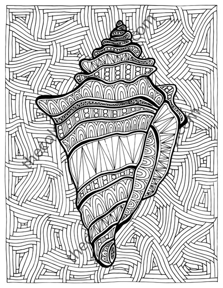 Get This Online Summer Printable Coloring Pages For Adults - 43992 !