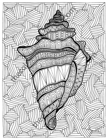 Online Summer Printable Coloring Pages for Adults - 43992