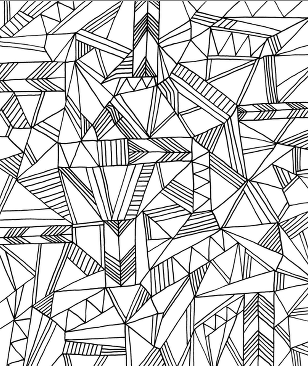 Get This Printable Geometric Coloring Pages For Adults