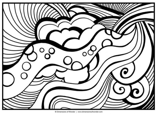 Abstract Coloring Pages for Adults 26570