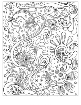Abstract Coloring Pages to Print for Grown Ups 52784