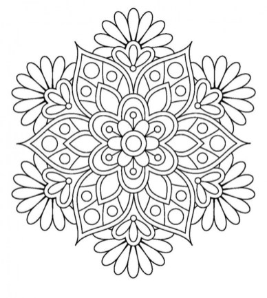 Abstract Coloring Pages to Print Online 67291
