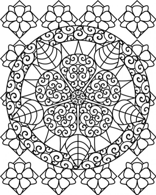 Adult Printable Abstract Coloring Pages 07031