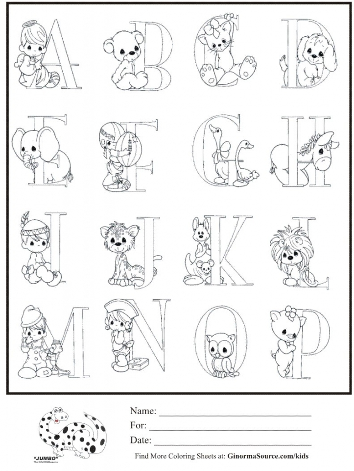 Get This Alphabet Coloring Pages For Kindergarten Students 80680 !