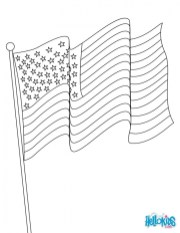 American Flag Coloring Pages Kids Printable 14264