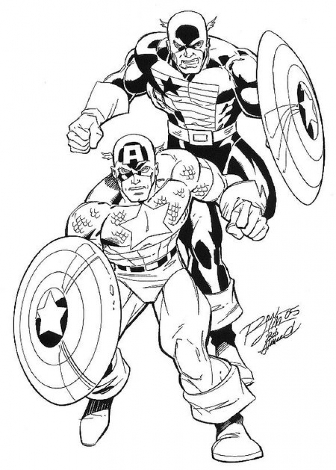 Avengers Coloring Pages Free to Print   67951