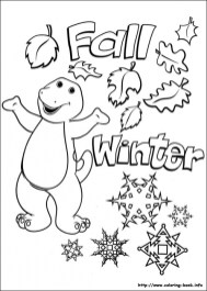 Barney and Friends Coloring Pages Free to Print 98371