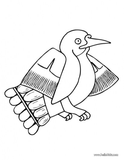 Bird Coloring Pages Kids Printable 37154