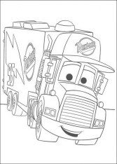 Cars Coloring Pages Disney Printable for Kids 91735