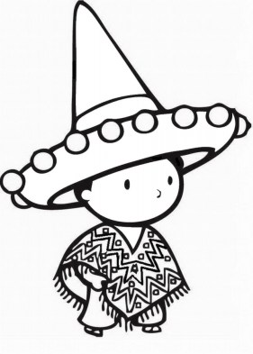 Cinco de Mayo Coloring Pages Free to Print 41820