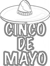 Cinco de Mayo Coloring Pages Online Printable 56776