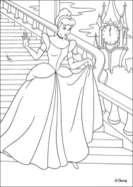 Cinderella Princess Coloring Pages for Girls 67319