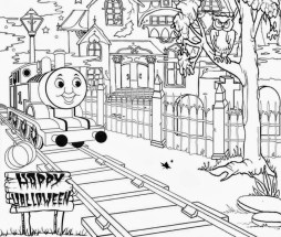Coloring Pages of Thomas the Train and Friends 94513