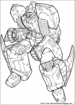 Cool Transformers Coloring Pages for Older Kids 57185