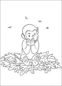 Curious George Coloring Pages Online 47103
