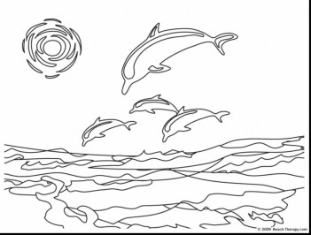 Dolphin Coloring Pages Animal Printables for Kids 75821