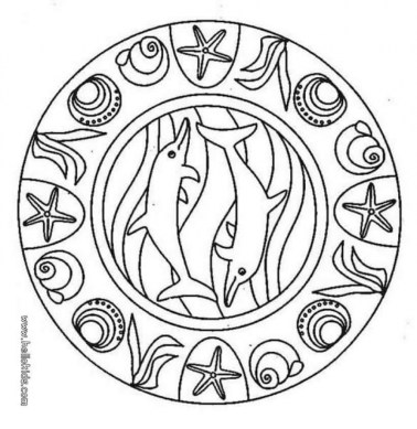 Dolphin Coloring Pages for Kids 62798