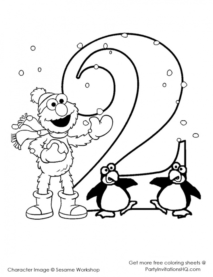 Elmo Coloring Pages Printable for Toddlers   21752