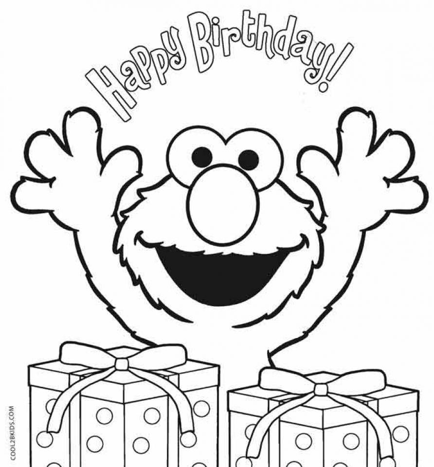 Free Coloring Pages Download 20 Printable Elmo Everfreecoloring Of