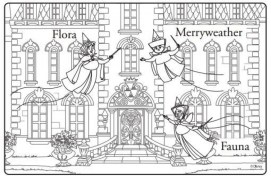 Fairies from Disney Sofia the First Coloring Pages Printable 56712