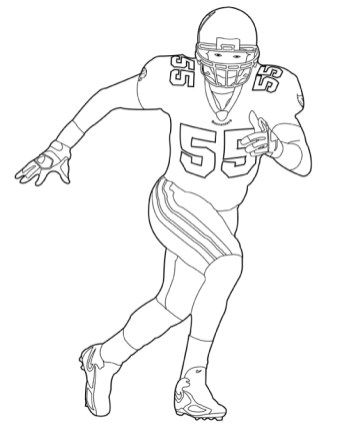 Football NFL Coloring Pages for Boys Printable 95629