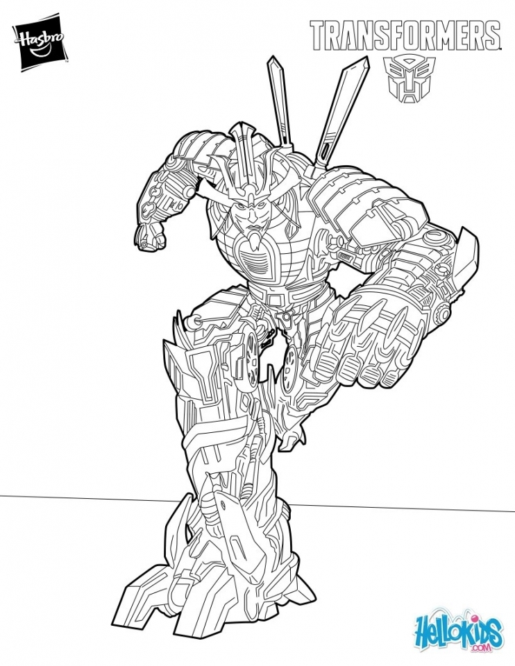 Free Boys Coloring Pages of Transformers Robot   41956