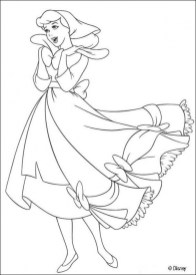 Free Cinderella Coloring Pages to Print 29826