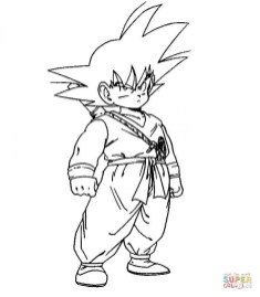 Free Dragon Ball Z Coloring Pages to Print 20135