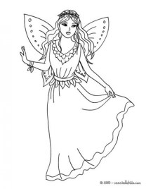 Free Fairy Coloring Pages to Print 83898