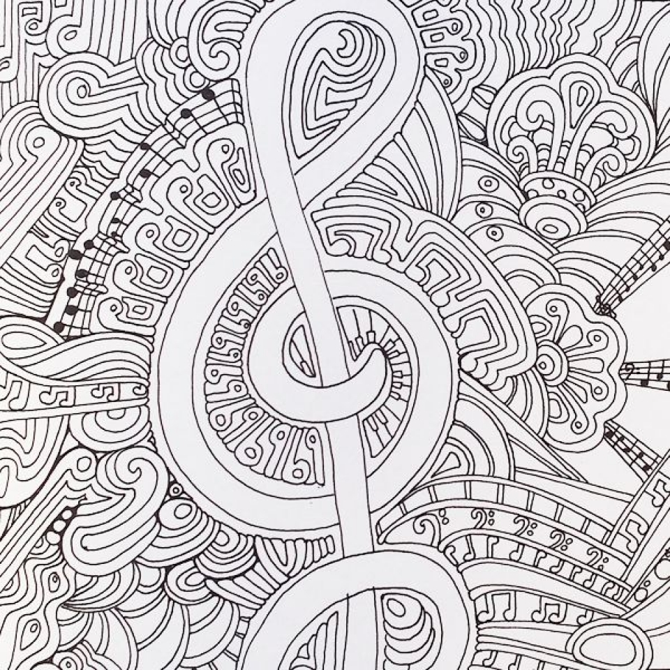 Get This Free Music Coloring Pages for Toddlers 05438