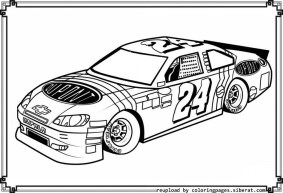Full Force Race Car Coloring Pages Free NASCAR | Race car coloring pages,  Cars coloring pages, Truck coloring pages | 193x283