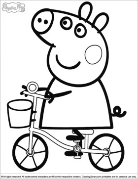Free Peppa Pig Coloring Pages to Print 45579