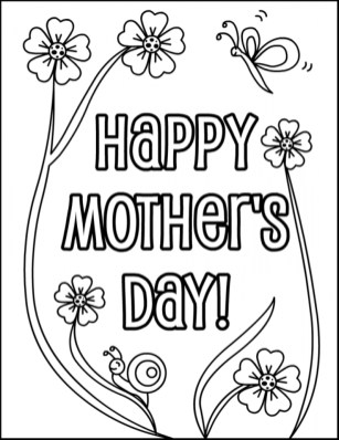 Free Printable Mothers Day Coloring Pages 84898