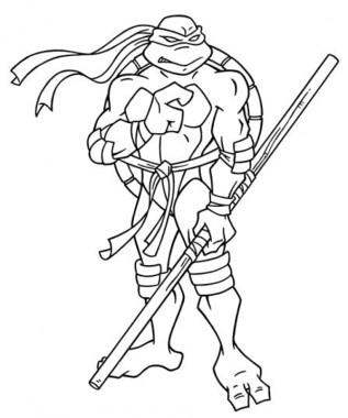 Free Teenage Mutant Ninja Turtles Coloring Pages to Print 68786