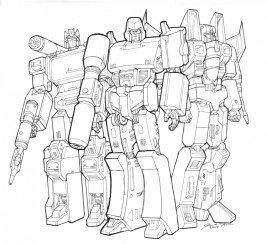 Free Transformers Printables to Color for Kids 98075