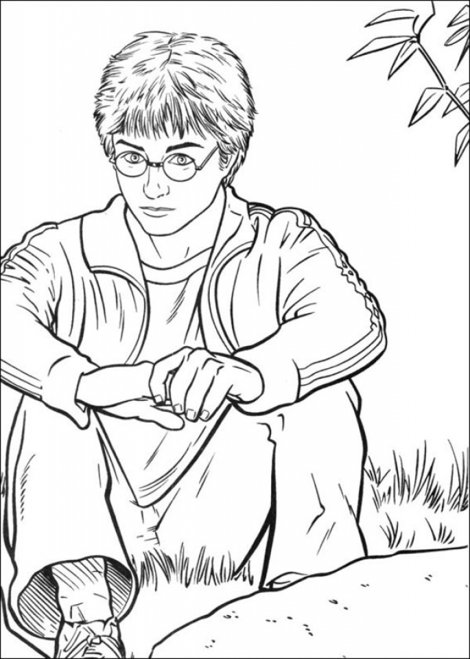 Harry Potter Coloring Pages Printable Free   89562