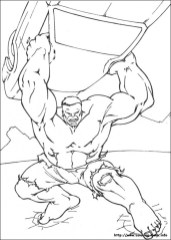 Hulk Coloring Pages Kids Printable 13411