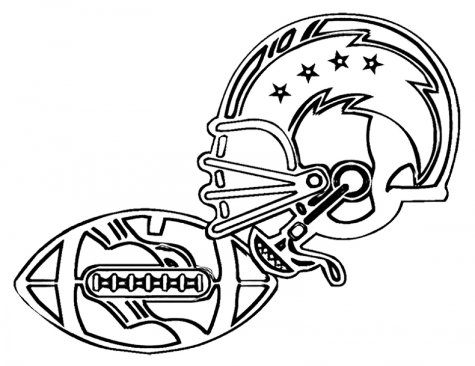 Kids Printable NFL Football Coloring Pages Online   84752