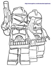 Lego Star Wars Coloring Pages Free Printable 70453
