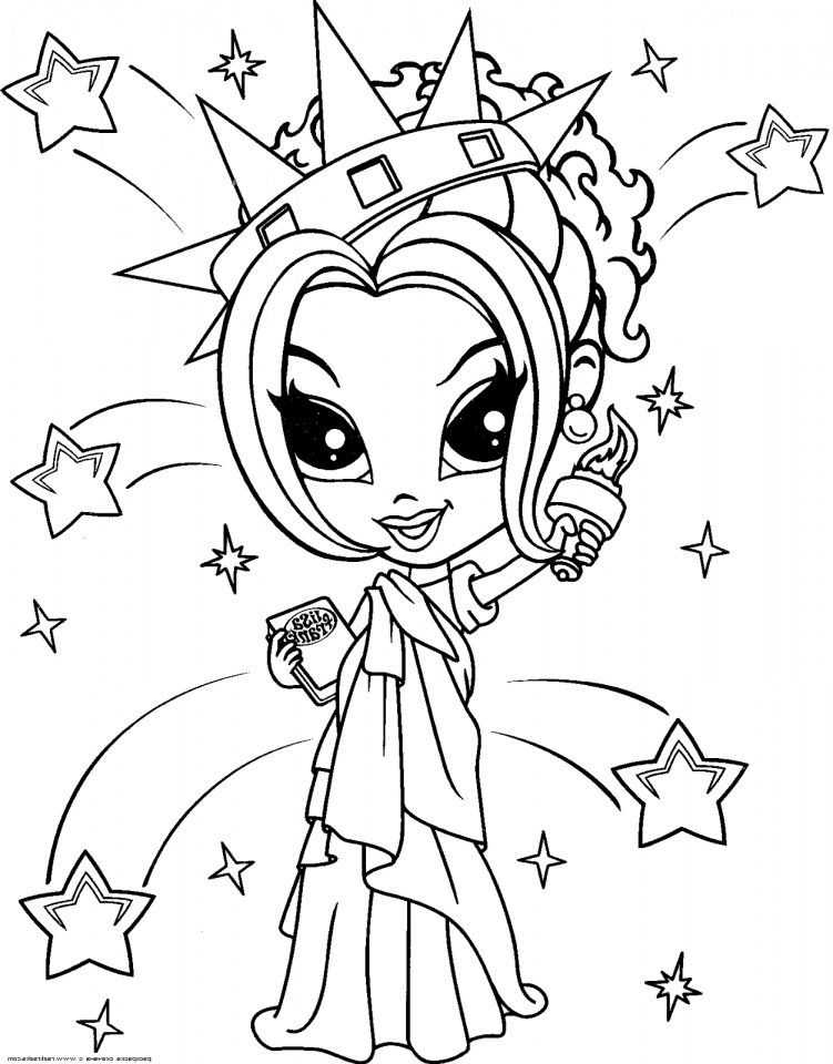 Get This Lisa Frank Coloring Pages for Girls 47801